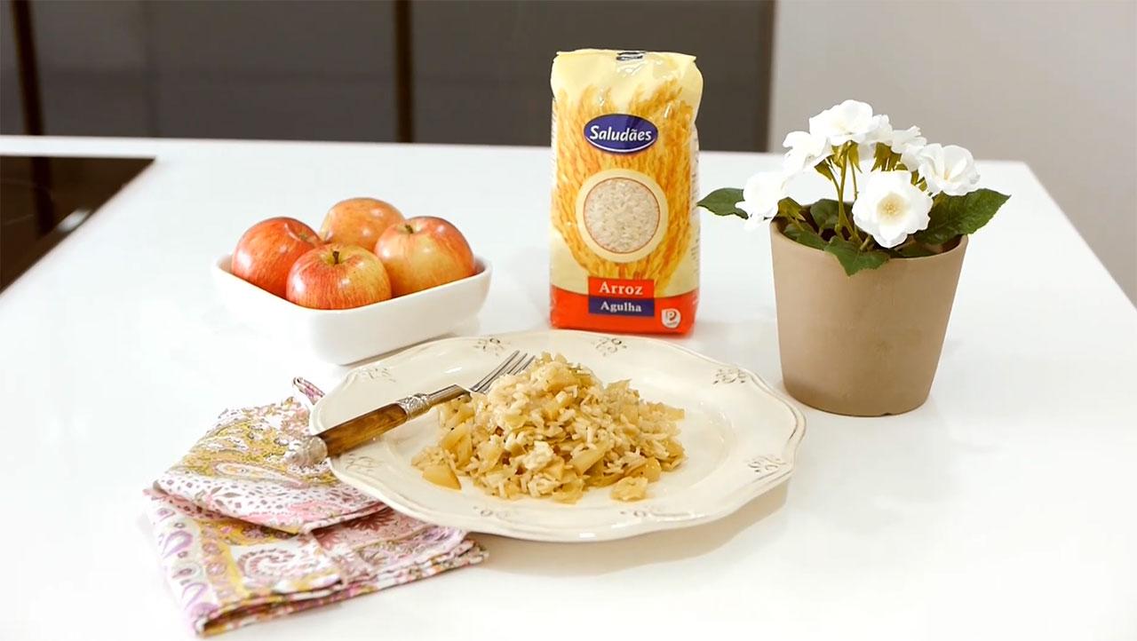 Imagem da receita de rolos de couve lombarda recheados com arroz de enchidos, preparados com Arroz Saludães Agulha