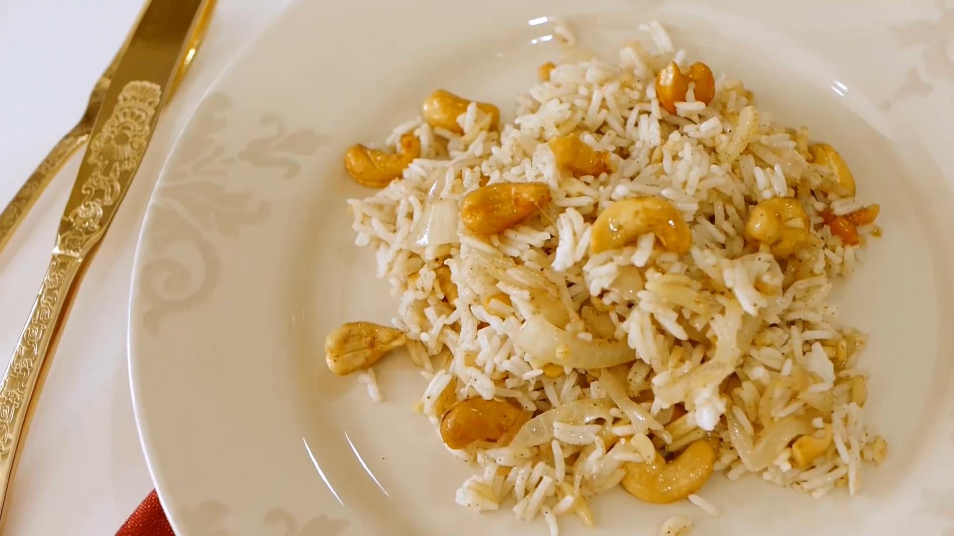 Imagem da receita de Arroz indiano com frutos secos