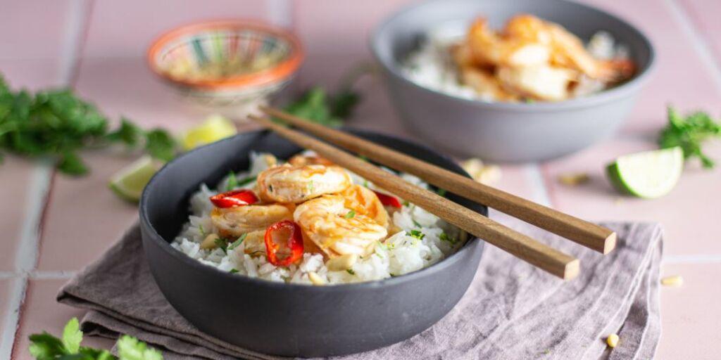 Imagem de arroz thai